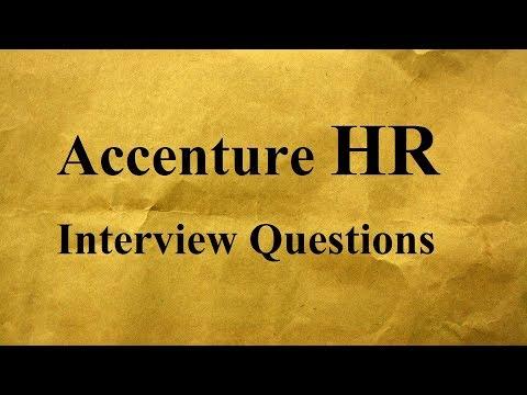 Accenture HR Interview Questions