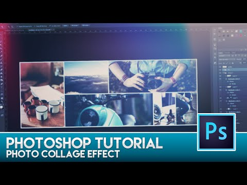 Photoshop Tutorial - Photo Collage Effect