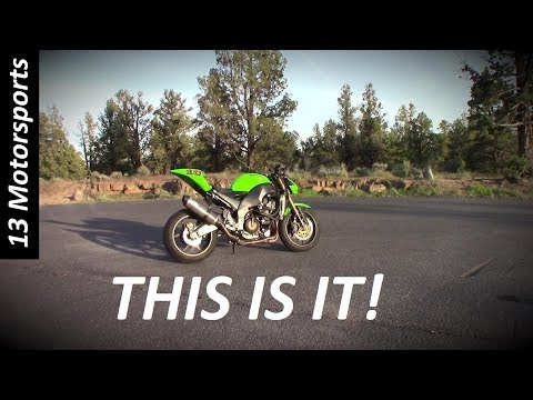 Streetfighter build- The REVEAL! also my first MotoVlog
