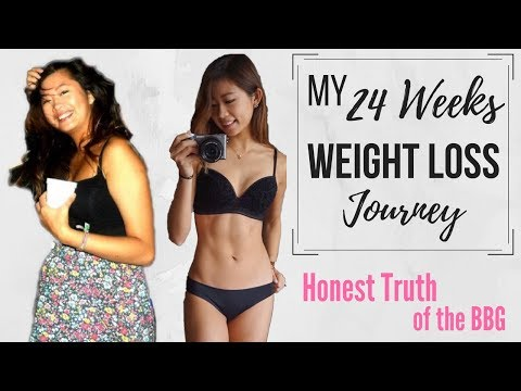 My 24 Weeks Weight Loss Journey & Honest Truth about BBG & My Eating Disorder 24星期減肥旅程+暴食症故事