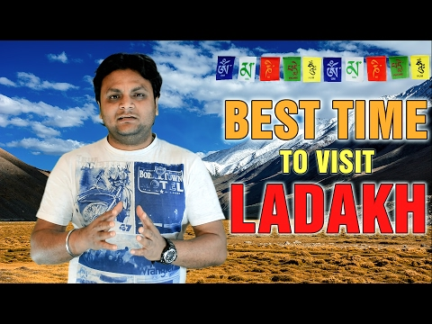 Best month to visit Ladakh by bike or car
