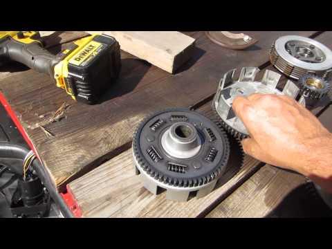 54% gear reduction install in 300 Honda video Dons camera 009