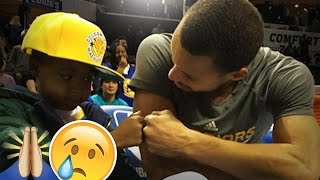 IF YOU HATE STEPHEN CURRY WATCH THIS!!!  STEPHEN CURRY WITH FANS