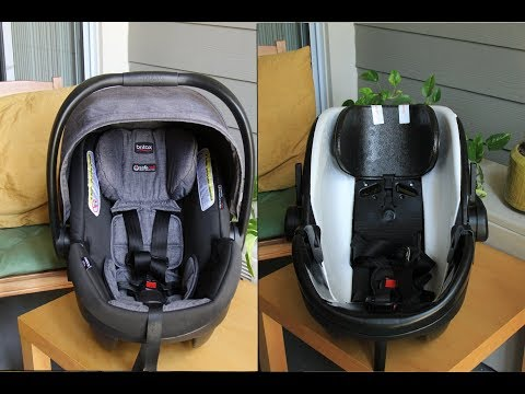 Britax B safe 35 Elite - How to remove cover