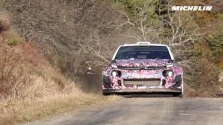 Lefebvre Testing - 2017 WRC Rallye Monte-Carlo - Michelin Motorsport