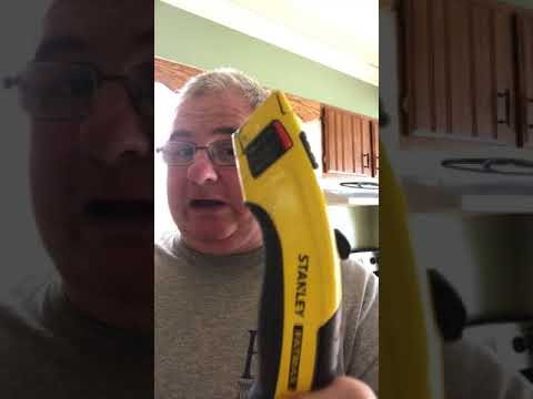 The Stanley fat max utility knife