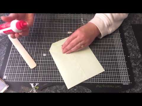 How I made block bottom paper bags
