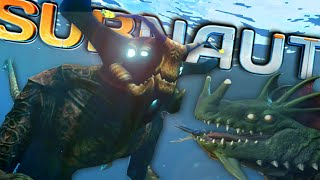 MEETING THE SEA DRAGON & SEA EMPEROR!! | Subnautica (Experimental Mode)