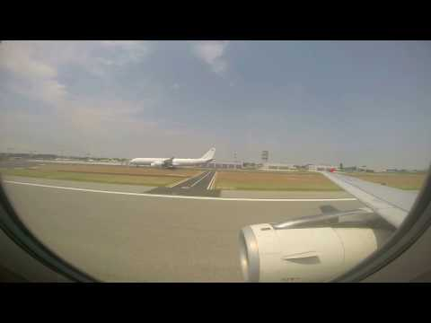 Turkish Airlines Airbus A321-231 Landing to Venice Marco Polo Airport Go Pro