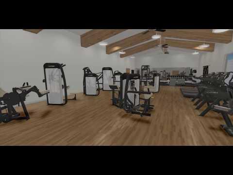 Cybex gym tour 3D