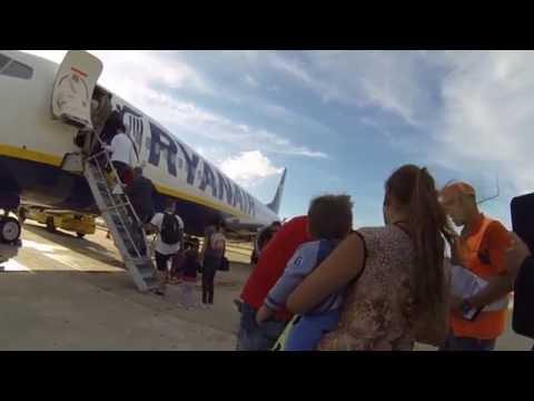 Ryanair Flight Report Lisbon Rome (Ciampino)10th June 2016