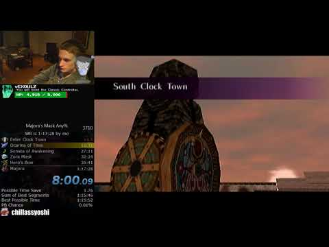The Legend of Zelda: Majora's Mask Any% Speedrun (1:17:15)