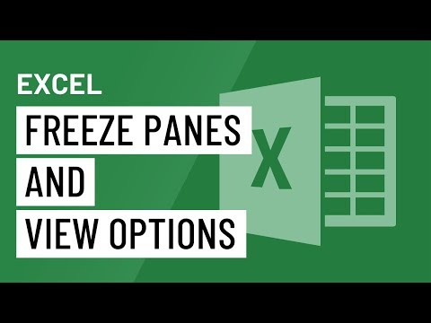 Excel 2016 Freeze Panes And View Options