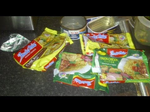 How to turn your Nigerian Indomie Noodles into a full dish