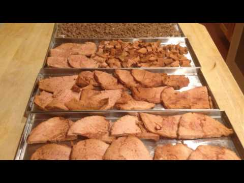 Smoked Ham Freeze Dried Home Freeze Dryer Meat Long Term Food Storage Meals
