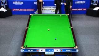 Mark Selby Blasted Off The Table By Jamie Jones - 2015 Australian Open