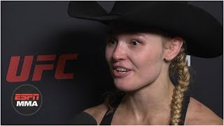 Andrea Lee ready to 'move on' after personal drama | UFC Fight Night | ESPN MMA