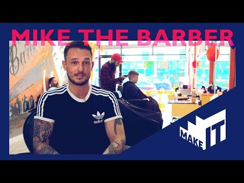 MIKE THE BARBER | BBC Make It