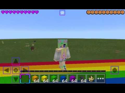 Nyan cat is in Minecraft PE!!!!!! !3