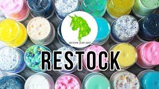 Slime Shop Restock!!! July 13, 2018 - @UniicornSlimeShop 💦