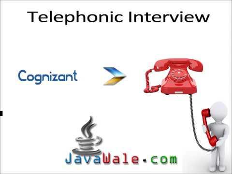 Telephonic Interview for Java Developer