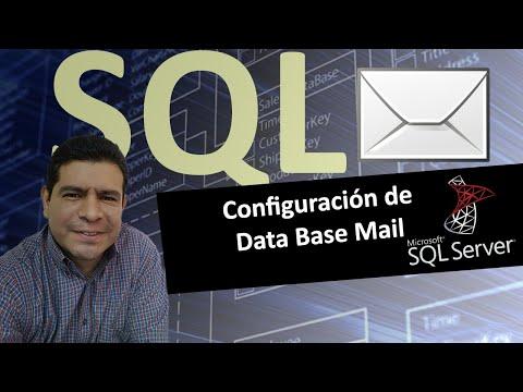 Configuración de Database Mail en SQL Server