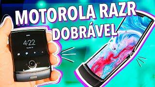 MOTOROLA RAZR COM TELA DOBRÁVEL: A VOLTA DO V3!