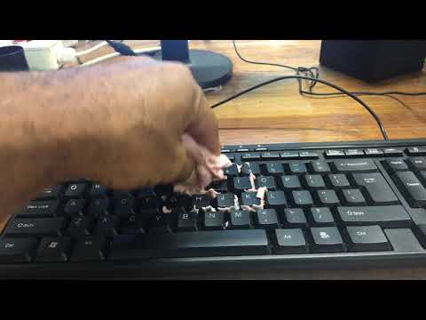 Pc keyboard cleaning hack