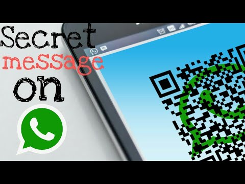 How to send secret ( Encoded ) message on WhatsApp ✓