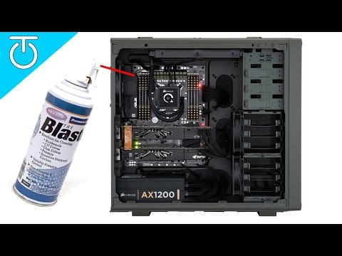 PC Dust Removal - Clean Out Your Computer - #TechTip