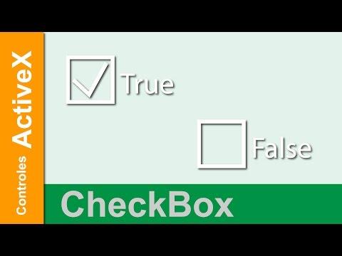 Controles ActiveX | CheckBox | Características Principales