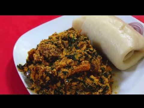 How To Make EGUSI SOUP  Nigerian Food Egusi Soup