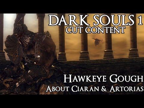Dark Souls 1 Cut Content - Hawkeye Gough About Ciaran & Artorias