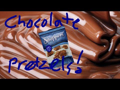 Mega Bites: Snappers Milk Chocolate Caramel Pretzel