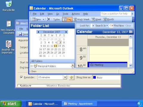 Outlook 2003 Video Training - Fun Stuff with Outlook