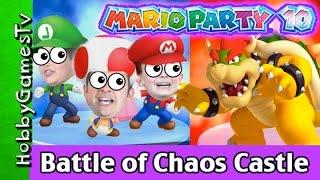 Mario Party 10 Battle of Chaos Castle! Wii U HobbyGamesTV