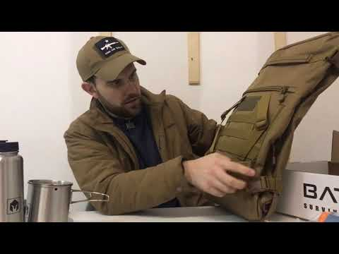 Battlbox survival and tactical gear box review: Mission 34 bug out bag box