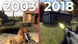 The Evolution of Call of Duty – history of all CoD games from 2003 to 2018