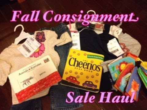 Fall Consignment Sale Haul