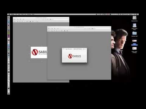 How to make a bigger image the same size as another image using preview on Mac OSX