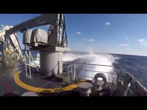 Underway on a Joint High Speed Vessel (JHSV)...now T-EPF