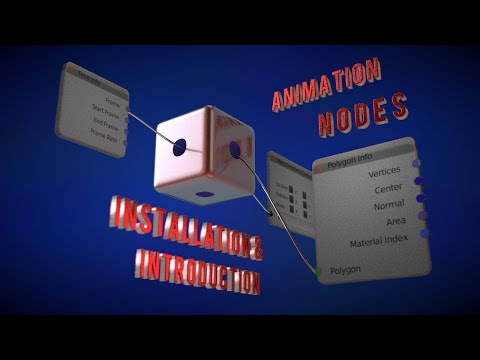 Tutorial I Animation Nodes Installation and Getting Started