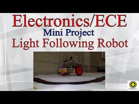 Light Following Robot using Arduino || Electronics/ECE Mini Project