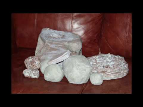 Paper Mache Rocks and Boulders