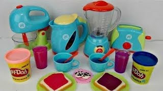 Download JUST LIKE HOME Deluxe KITCHEN Appliance Full Set with Play-doh Video