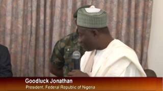 Jonathan Visits Shagari @90