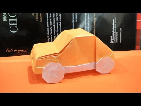 Origami Car (Artur Biernacki) Part 1