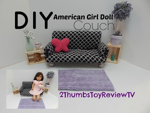 DIY American Girl Doll Couch