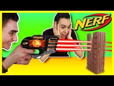CRAZY LASER GUN!