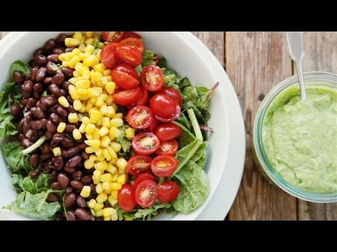 How to Make Creamy Cilantro-Avocado Dressing in the Blender